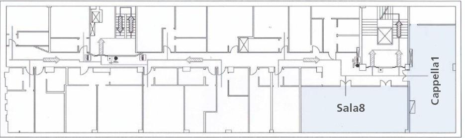 Villa Borromeo _ Mappa piani camere 1
