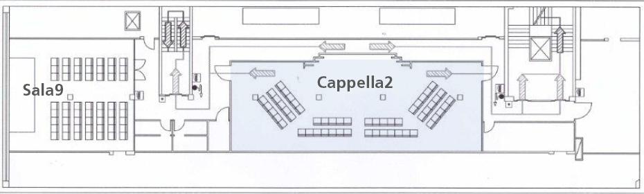 Villa Borromeo _ Mappa piano 5